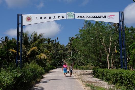 Kampung Berseri Astra Sonraen - Kupang