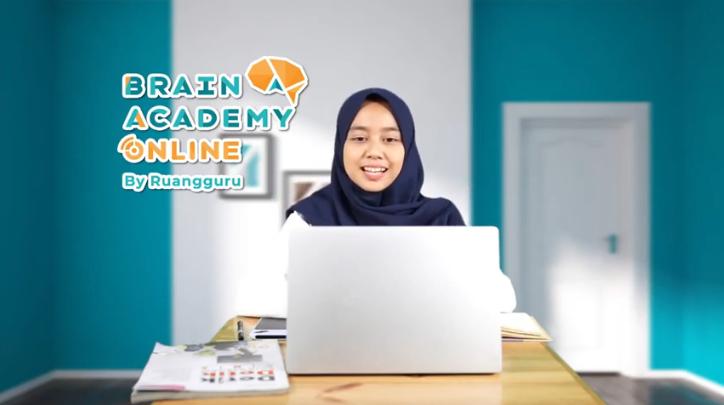 Tempat les online terbaik dan termurah Brain Academy